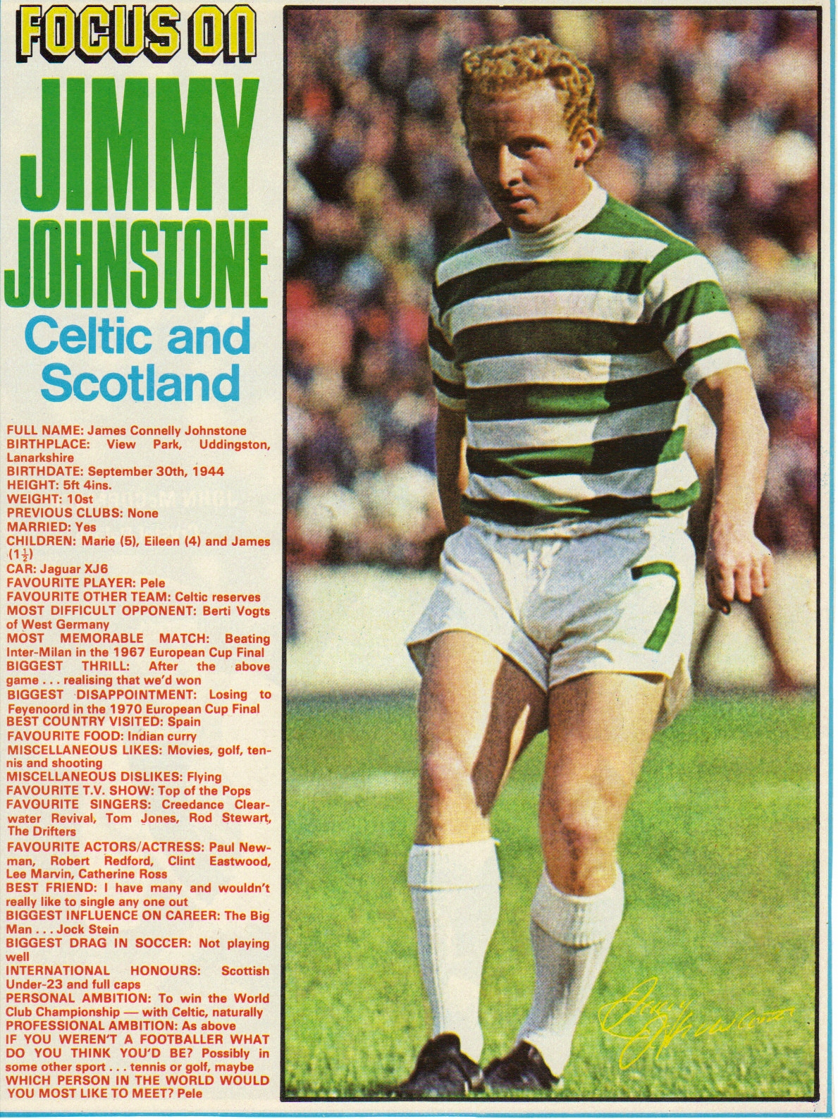 The Bhoy in the Picture Jinky – The Celtic Underground