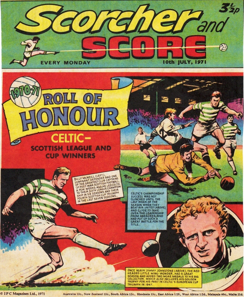 The Bhoy in the Picture: Magazine Covers