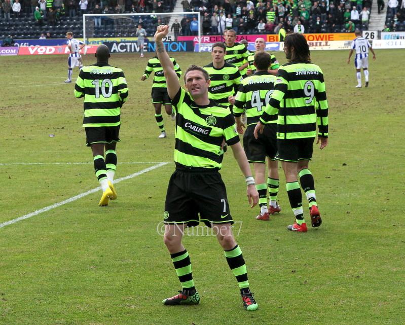 Celtic V Kilmarnock in Pictures