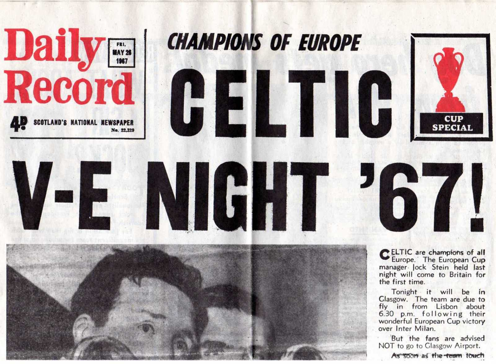 A Day in the Life of… Bobby Murdoch: 14th August 1971