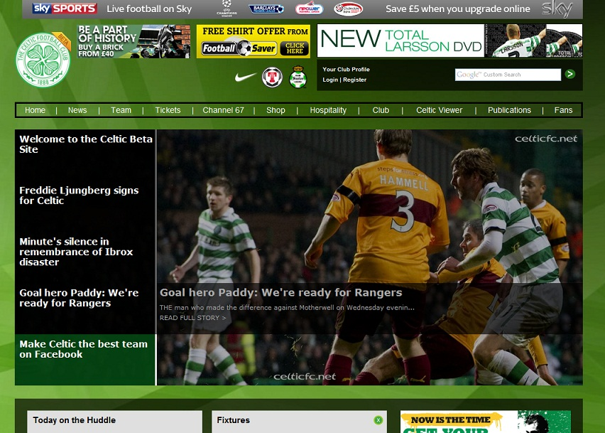 beta.celticfc.net – Fail