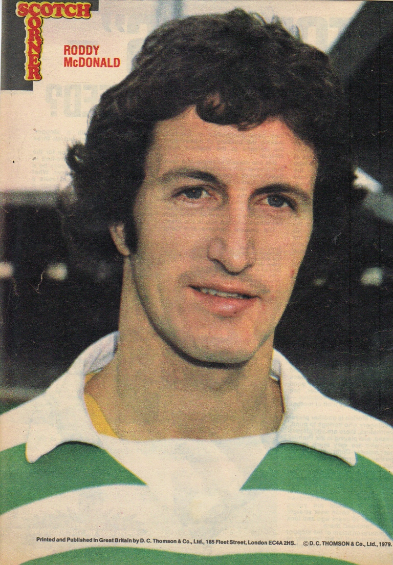 The Bhoy in the Picture – Roddy MacDonald