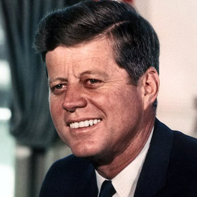 In memory of John F Kennedy