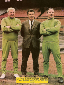Neil Mochan, Sean Fallon, Bob Rooney