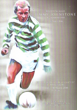 Jimmy Johnstone….10 years on.