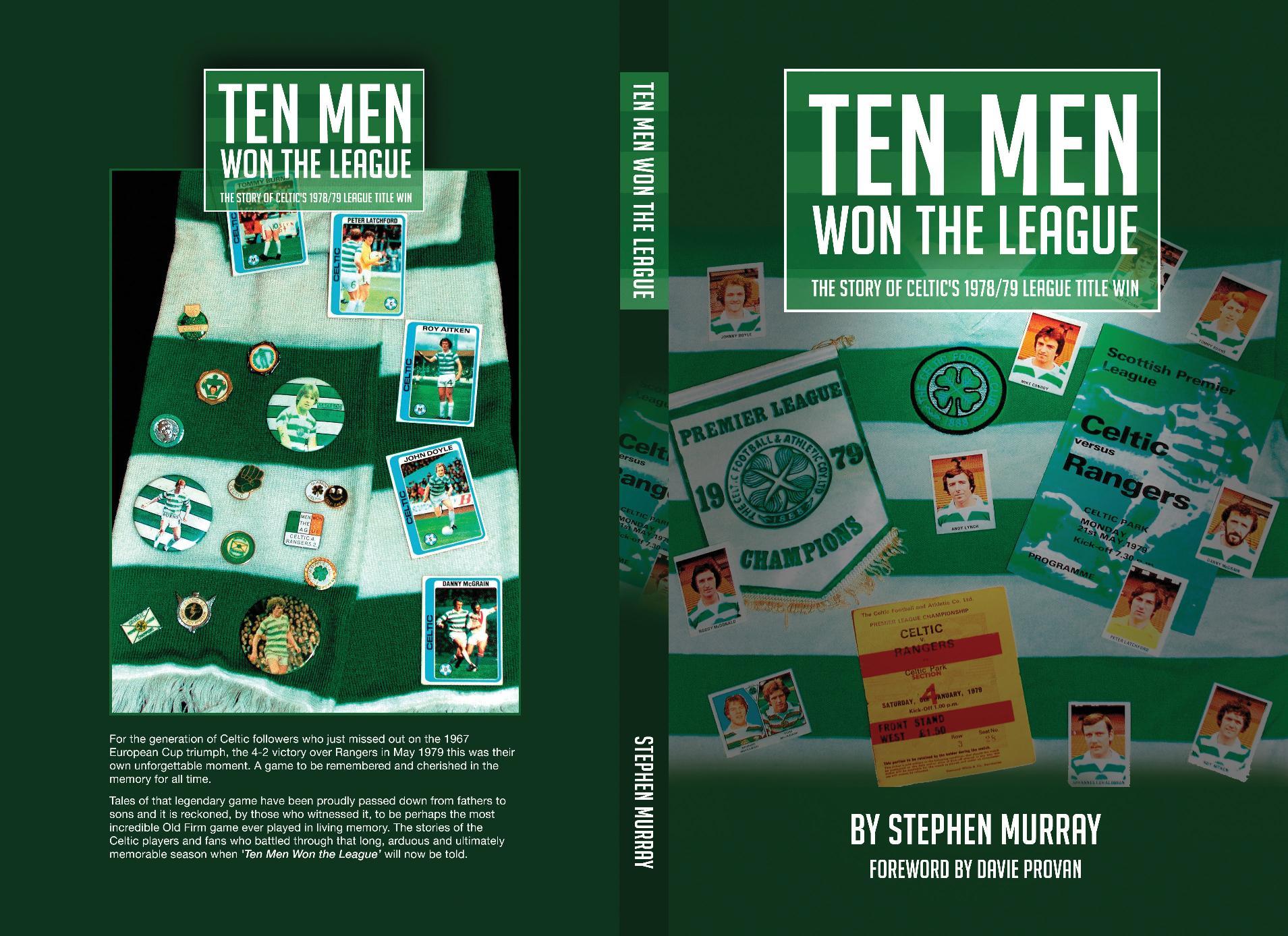 Ten Men Won The League book now launched