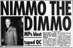 Was Lord Nimmo Smith Duped?