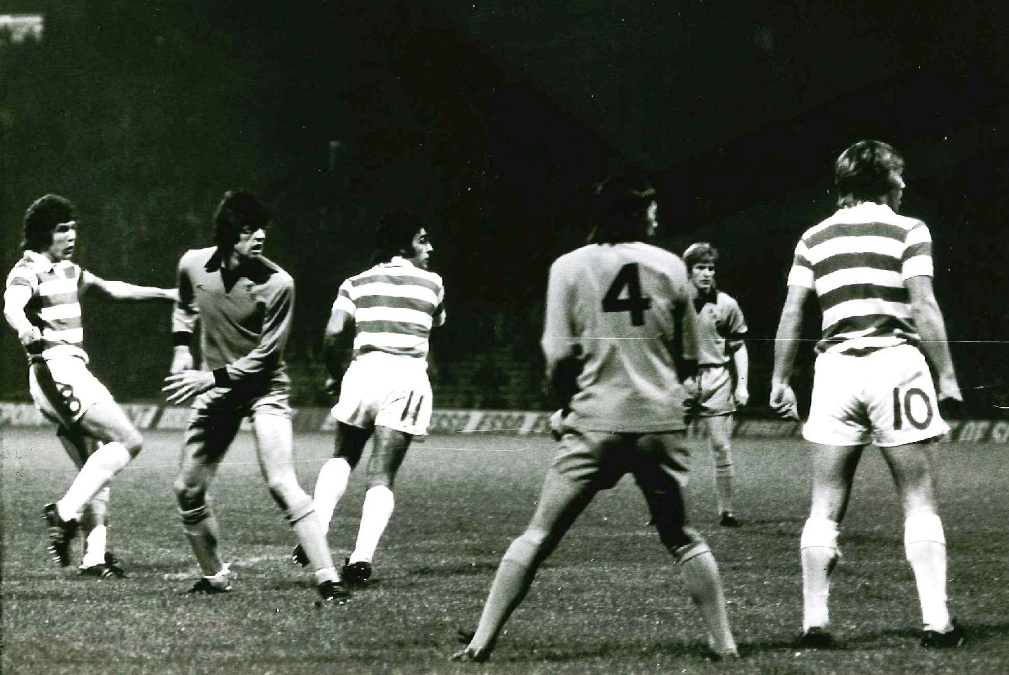 HIS GREATEST GAME – RONNIE GLAVIN – CELTIC 5-1 DUNDEE UTD 1976