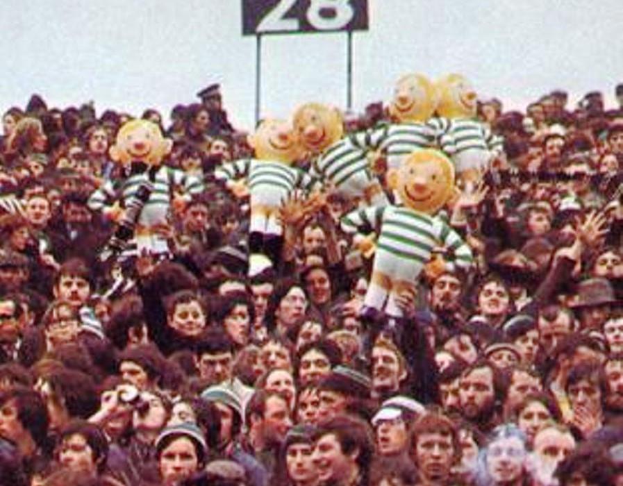 celtic fans 1970s