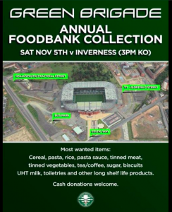 Foodbank Collection