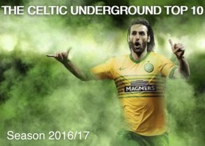 The Celtic Underground Top Ten Results