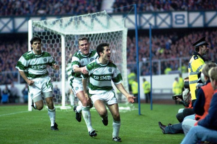 LATE ARRIVAL – 1993 RANGERS 1-2 CELTIC