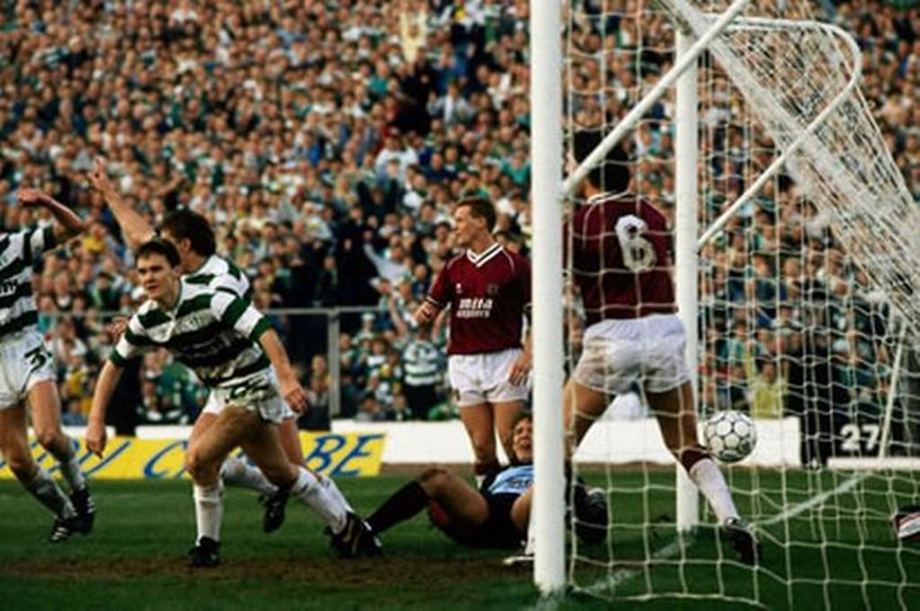 LATE ARRIVALS -1988 CELTIC 2-1 HEARTS