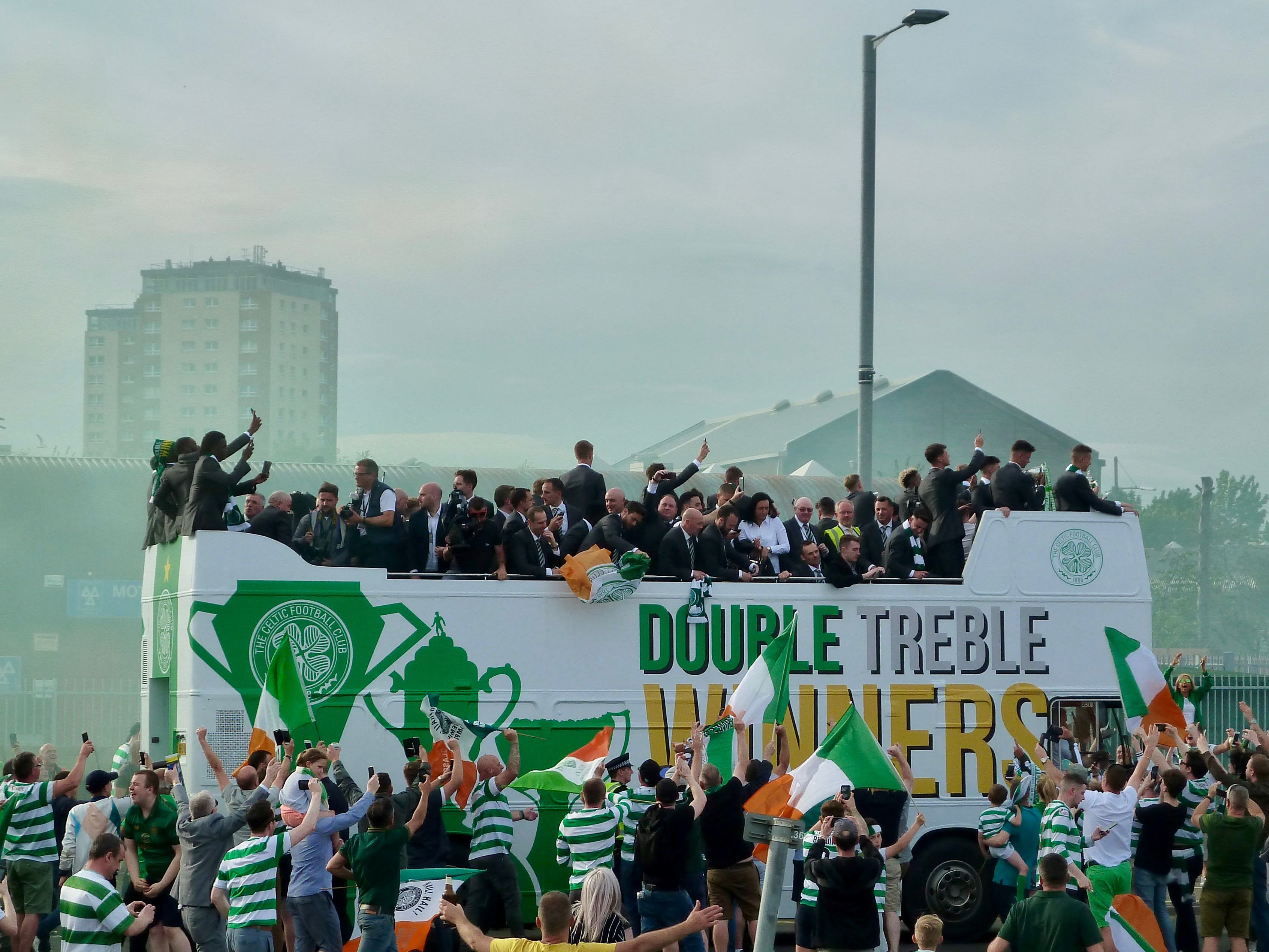 Double Treble Goals and Party