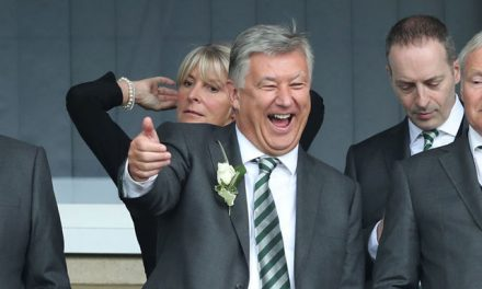 Chatting With Peter Lawwell