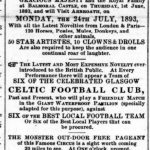 CELTIC AND THE CIRCUS