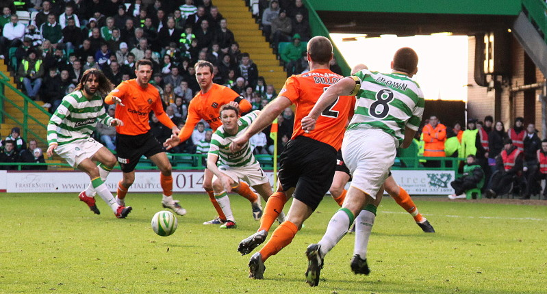 Celtic V Dundee United In Pictures