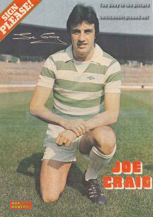 The Bhoy In the Picture – Joe Craig