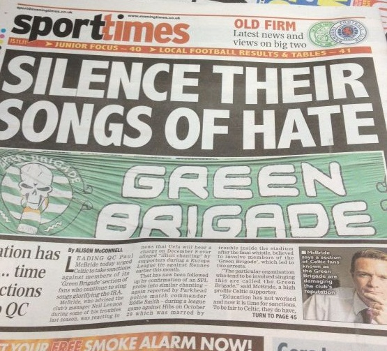 Green Brigade: Pawns in the game
