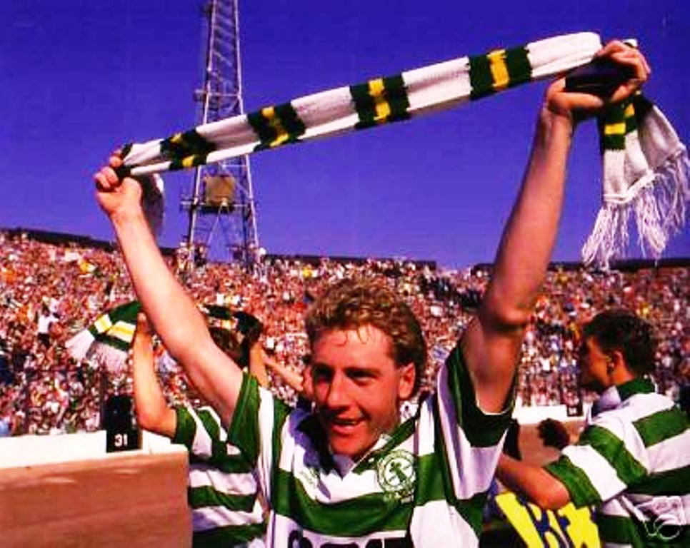 The Bhoy in the picture – Frank McAvennie