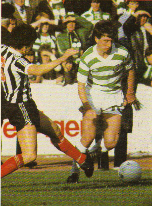 HIS GREATEST GAME – GEORGE MCCLUSKEY – 1981 ST MIRREN 1-5 CELTIC