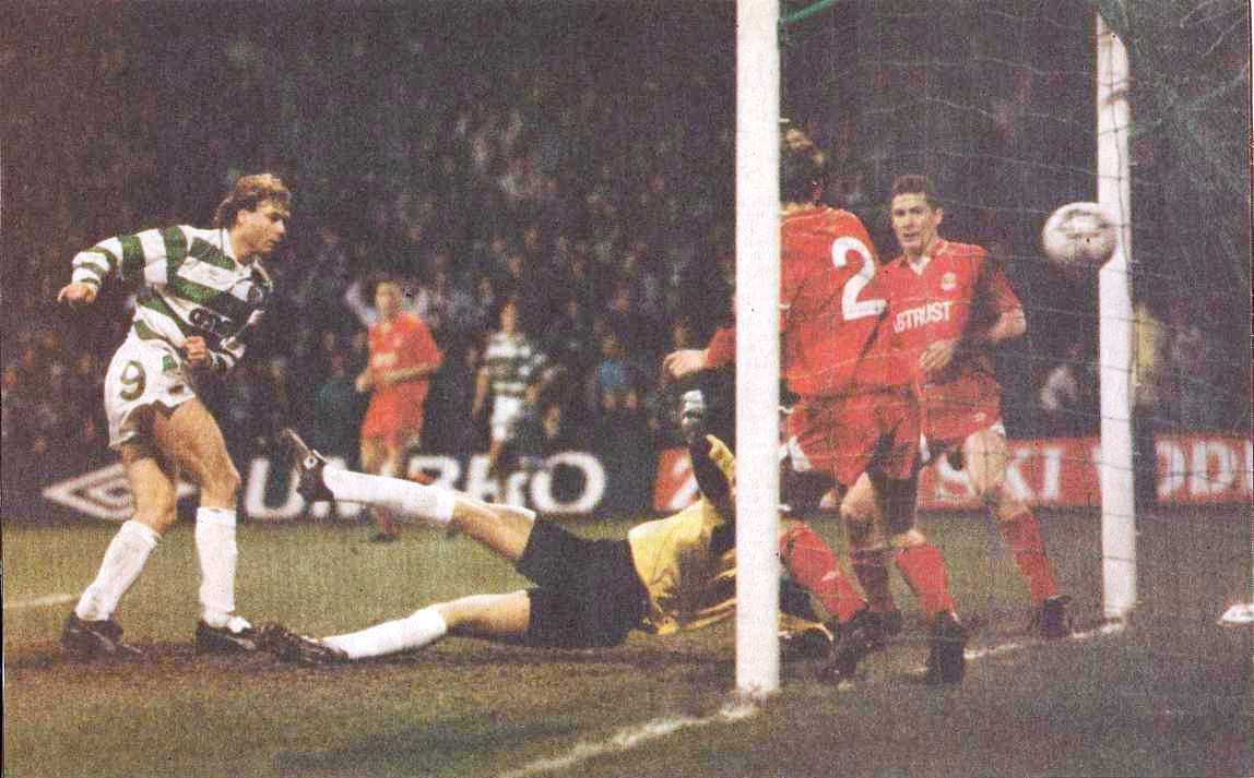 LATE ARRIVALS – JANUARY 1991 CELTIC 1-0 ABERDEEN